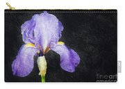 The Lone Iris Carry-all Pouch