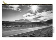 The Lonely Road Carry-all Pouch by Howard Salmon