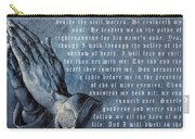 The Lord Is My Shepherd Carry-all Pouch by Albrecht Durer