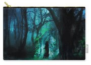 The Lovers Cottage By Night Carry-all Pouch