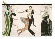 The Madness Of The Day Carry-all Pouch by Georges Barbier