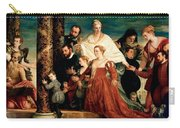 The Madonna Of The Cuccina Family Carry-all Pouch