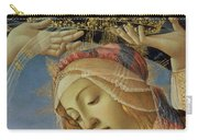 The Madonna Of The Magnificat Carry-all Pouch by Sandro Botticelli
