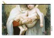 The Madonna Of The Roses Carry-all Pouch