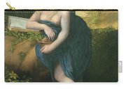 The Magdalene, C.1518-19 Oil On Canvas Carry-all Pouch