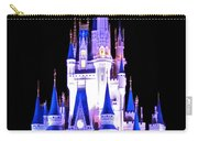 The Magic Kingdom Castle In Blue And Purple Walt Disney World Fl Carry-all Pouch