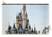 The Magic Kingdom Castle On A Beautiful Summer Day Carry-all Pouch