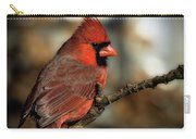 The Male Northern Cardinal Carry-all Pouch
