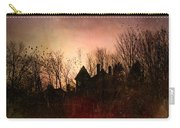 The Mansion Is Warm At The Top Of The Hill Carry-all Pouch by Bob Orsillo