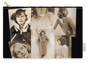 The Many Faces Of Greta Garbo Carry-all Pouch