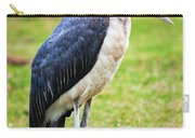 The Marabou Stork In Tanzania. Africa Carry-all Pouch
