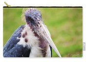 The Marabou Stork In Tanzania Carry-all Pouch