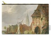 The March Gate In Buxtehude Carry-all Pouch by Adolph Kiste
