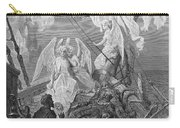The Mariner Sees The Band Of Angelic Spirits Carry-all Pouch by Gustave Dore