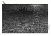 The Marooned Ship In A Moonlit Sea Carry-all Pouch