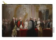 The Marriage Of The Duke And Duchess Of York Carry-all Pouch by Henry Singleton