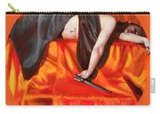 The Martyr Carry-all Pouch by Shelley Irish