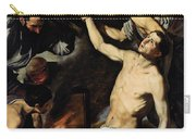 The Martyrdom Of Saint Lawrence Carry-all Pouch by Jusepe de Ribera
