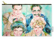 The Marx Brothers / Watercolor Painting Carry-all Pouch