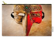 The Mask On The Floor Carry-all Pouch