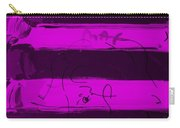 The Max Face In Purple Carry-all Pouch