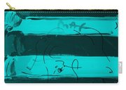The Max Face In Turquois Carry-all Pouch