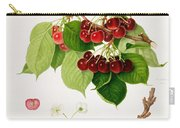 The May Duke Cherry Carry-all Pouch by William Hooker