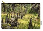 The Meadow Fence Carry-all Pouch