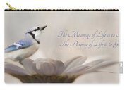 The Meaning Of Life Carry-all Pouch
