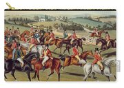 'the Meet' Plate I From 'fox Hunting' Carry-all Pouch