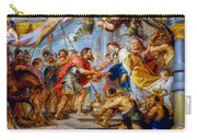 The Meeting Of Abraham And Melchizedek Carry-all Pouch