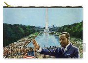 The Memorial Speech Carry-all Pouch by Colin Bootman