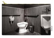 The Mens Room Carry-all Pouch by Bob Orsillo