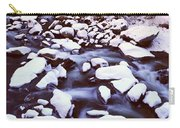 The Merced River In Winter, Yosemite Carry-all Pouch