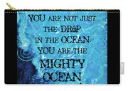 The Mighty Celtic Ocean Carry-all Pouch