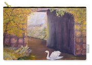 The Mill Swan Carry-all Pouch