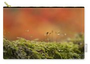 The Miniature World Of Moss  Carry-all Pouch by Anne Gilbert