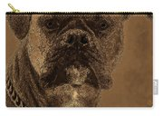 The Modern Boxer Bulldog Carry-all Pouch