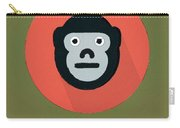 The Monkey Cute Portrait Carry-all Pouch
