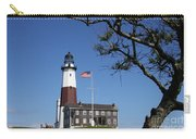 The Montauk Point Lighthouse Carry-all Pouch