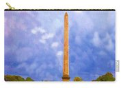 The Monument's Parking Lot Digital Art By Cathy Anderson Carry-all Pouch