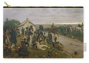 The Morning Of The Battle Of Waterloo Carry-all Pouch