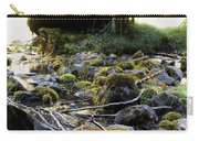 The Moss In The River Stones Carry-all Pouch
