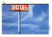 Motel California Palm Springs Carry-all Pouch