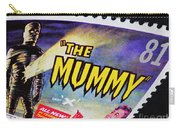 The Mummy Postage Stamp Print Carry-all Pouch