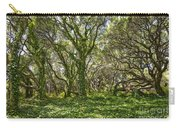The Mysterious Forest - The Magical Trees Of The Los Osos Oak Reserve. Carry-all Pouch