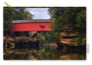 The Narrows Covered Bridge 5 Carry-all Pouch by Marty Koch