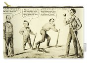The National Game - Abraham Lincoln Plays Baseball Carry-all Pouch