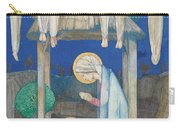 The Nativity Carry-all Pouch by Edward Reginald Frampton