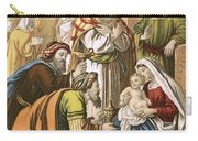 The Nativity Carry-all Pouch by English School